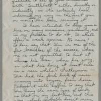 1945-05-16 Lt. Bob Frink to Dave Elder Page 1