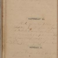 1864-08-19 -- 1864-08-21