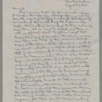 1945-08-10 Laura Davis to Lloyd Davis Page 1