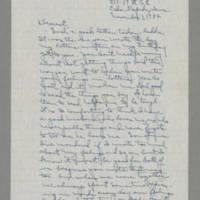 1942-11-03 Laura Davis to Lloyd Davis Page 1