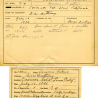 Thomas Wilmer Dewing, egg card # 067