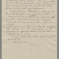 1942-08-15 Bessie Hutchison to Laura Davis Page 5