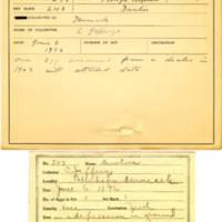 Thomas Wilmer Dewing, egg card # 173