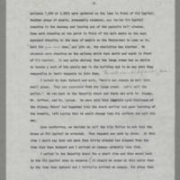 "1970-05-07 """"A Description of Events Which Occurred on or About The Pentacrest Area on May 7 and 8, 1970"""" Page 2"