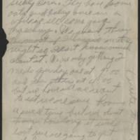 1917-09-10 Harvey Wertz to Mr. L.A. Wertz Page 2