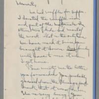 1942-01-31 Laura Davis to Lloyd Davis Page 1