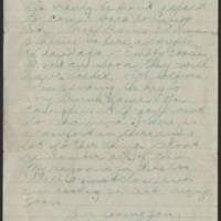 1918-08-16 Thomas Messenger to Mr. N.H. Messenger Page 4