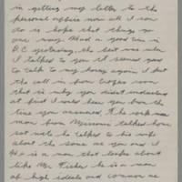 1943-01-18 Lloyd Davis to Laura Davis Page 1