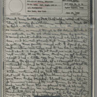 1943-06-22 Laura Davis to Lloyd Davis