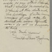 1917-09-15 Mildred Ann Rayburn to Mrs. Francis N. Whitley Page 2