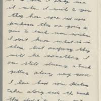1943-12-25 Lloyd Davis to Laura Davis Page 2