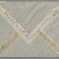 1944-02-10 Helen Fox to Bess Peebles Fox Page 5 - Envelope back