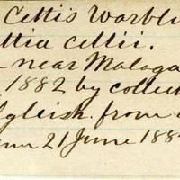Clinton Mellen Jones, egg card # 424