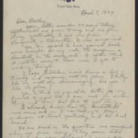 1944-03-07 Helen Fox to Bess Peebles Fox Page 1