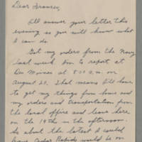1942-08-10 Maurice Hutchison to Laura Frances Davis Page 1