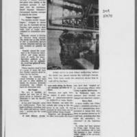 "1971-05-08 Des Moines Register Article: """"Clean Up After Iowa City Blast"""" Page 4"