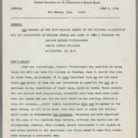 1964-06-05 Request to NAACP Members Fort Madison Branch