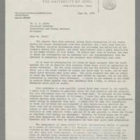 1970-06-22 Philip G. Hubbard to Mr. G.E. Burke Page 1