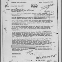 1955-02-18 Special Agent in Charge, Omaha Field Office, to Director, FBI advising that Edna Griffin be kept in the Security Index Page 1