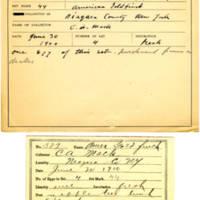 Thomas Wilmer Dewing, egg card # 425