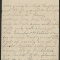 1897-10-18 Letter from Millie Huff Page 4
