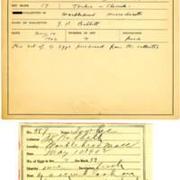 Thomas Wilmer Dewing, egg card # 471