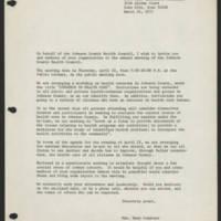 1971-03-14 Correspondence to Mrs. Mary Conatser Page 2