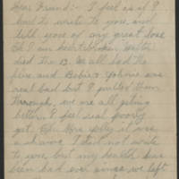 1919-02-21 Letter from Mrs. W. Webb Page 1