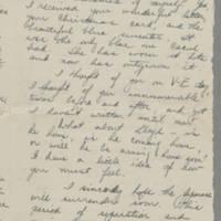 1945-06-23 Bessie Henderson to Laura Frances Davis Page 1