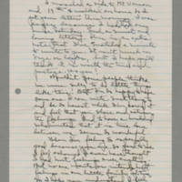 1942-12-16 Laura Davis to Lloyd Davis Page 1