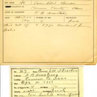 Thomas Wilmer Dewing, egg card # 811u
