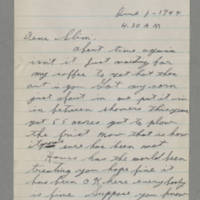 1944-06-01 George Davis to Lloyd Davis Page 1