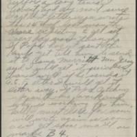 1917-11-01 Harvey Wertz to Miss Dorothy Wertz Page 2