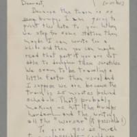 1942-11-27 Laura Davis to Lloyd Davis Page 1