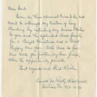 1944-11-15 Oswald Ragatz to W. Earl Hall