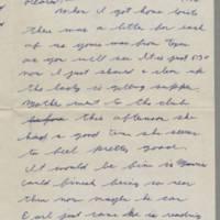 1942-01-15 Lloyd Davis to Laura Davis Page 1