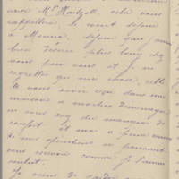 1918-10-31 Letter from J. Plocque Page 2