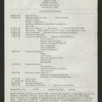 """1969-06-02 Newsletter: """"""""LULAC Glances"""""""" Page 4"""