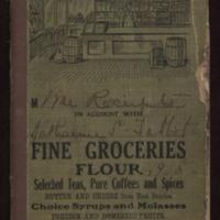 Katharine S. Talbot cookbook, 1918