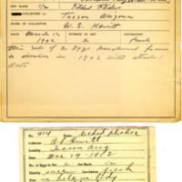 Thomas Wilmer Dewing, egg card # 307