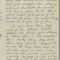 1942-01-11 Letter to Laura Frances Davis Page 2