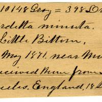 Clinton Mellen Jones, egg card # 071