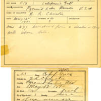 Thomas Wilmer Dewing, egg card # 041