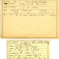 Thomas Wilmer Dewing, egg card # 484