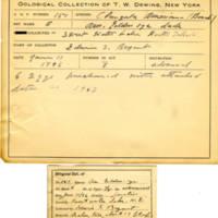 Thomas Wilmer Dewing, egg card # 115