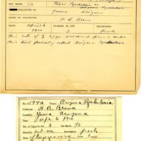 Thomas Wilmer Dewing, egg card # 483
