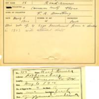 Thomas Wilmer Dewing, egg card # 268