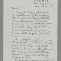 1942-11-15 Laura Davis to Lloyd Davis Page 1