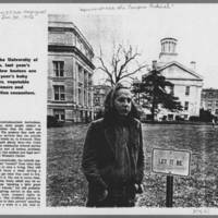 """1972-01-30 New York Times Magazine Article: """"""""Metamorphosis Of A Campus Radical"""""""" Page 5"""