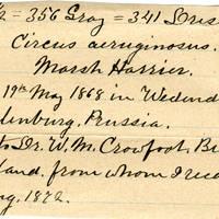 Clinton Mellen Jones, egg card # 251